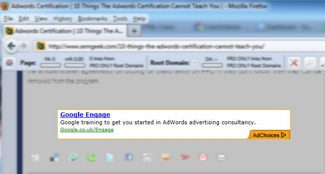 Ads on the Google Display Network