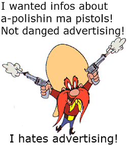 Negative keywords would've stopped PPC gun loving Yosemite Sam land on a PPC advertising page.