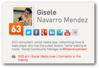 Klout will have a positive impact on the rankings of your Twitter profile