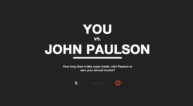 You Vs John Paulson