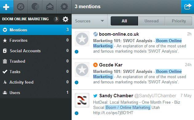 Mention Social Media Monitoring