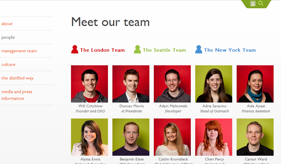 the best meet the team pages creative examples ideas for staff bios