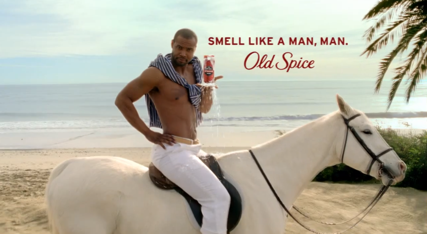 Old spice video still