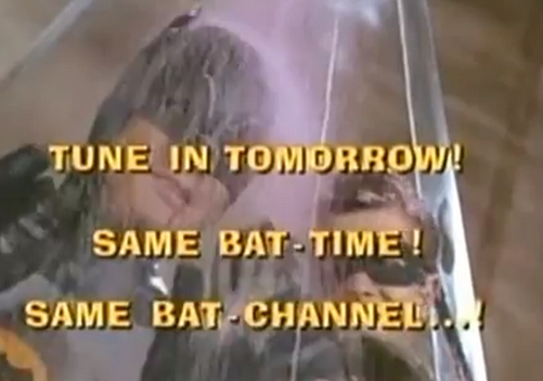 Holy catchphrase Batman