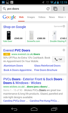 PLAs beat text ads to the top spot, but does average position reflect this?