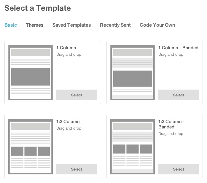 using mailchimp templates - using mailchimp to plan a party or wedding boom