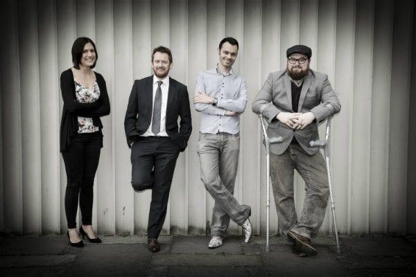 Amy, Rob, Ian & James at Creative Class 2016