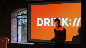 Ian at drink digital marketing meetup