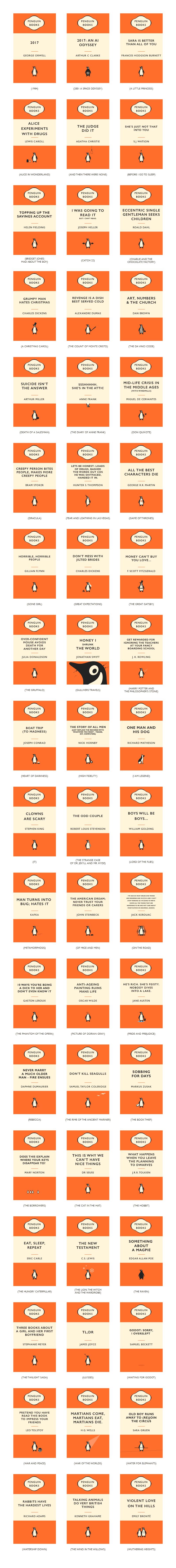 Penguin books reimagined